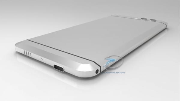 HTC无按钮Ocean渲染图曝光:双摄像头+USB-C端口的照片 - 3