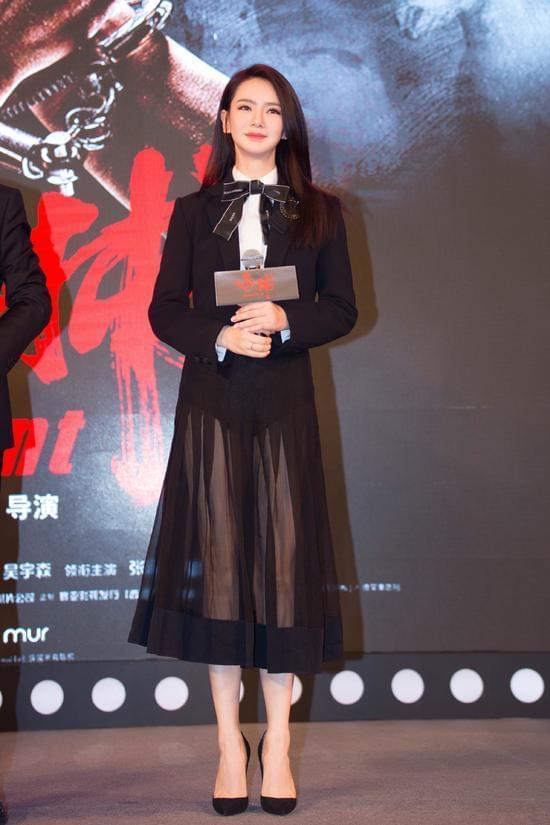 戚薇自曝是吴宇森迷妹 与导演合作是梦想成真