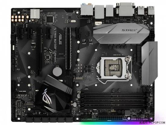 ROG STRIX B250F GAMING主板拥有出色的游戏性能 为了让你所打造的电竞游戏主机看起来更炫酷,这款主板特别设计了可同步的AURA RGB电竞信仰灯效,位于PCB背面边缘,玩家可通过AURA专属软件进行灯效调节,包括约1680万种色彩以及多种预设的灯效运行模式可选。此外,这款主板还板载了4-PIN AURA SYNC灯效接针,可以连接通过华硕AURA灯效同步认证的灯带或者机箱等设备,实现更加迷人的电脑整机灯效同步效果。