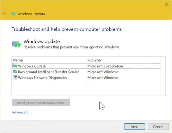 微软上线新页面 引导用户修复Windows更新错误的照片 - 2