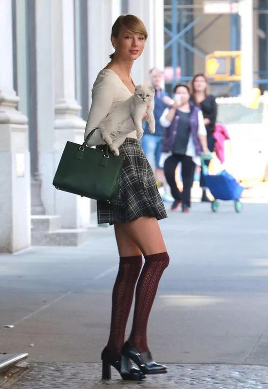 大型吸猫现场 时尚圈不仅爱鞋爱包还爱猫