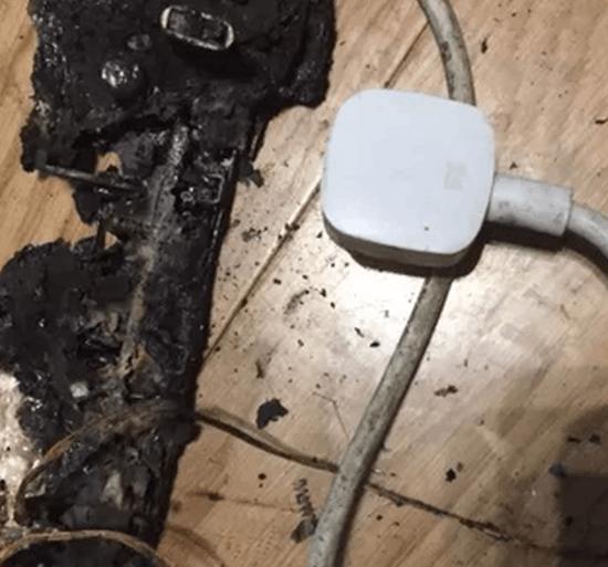 小米回应插线板自燃事件 称该商品系假冒伪劣产品