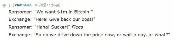 比特币交易所CEO被绑交百万获释 网友评论亮了