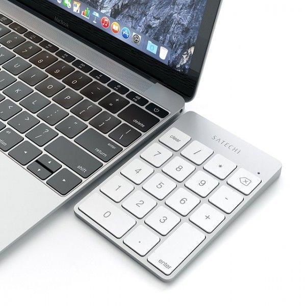 超薄铝质无线数字键盘 搭配新款 MBP 风格