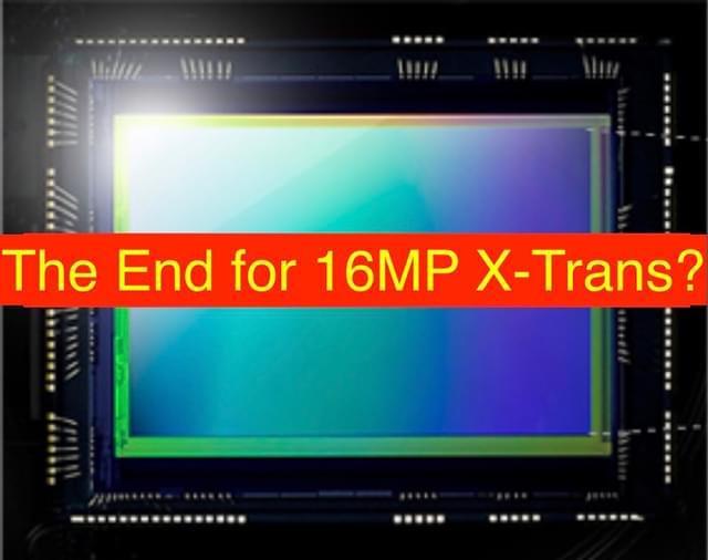 传富士部分相机因索尼1600万像素CMOS停产而停产