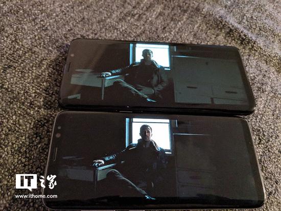 部分用户抱怨三星S9屏显暗色图片会丢失细节