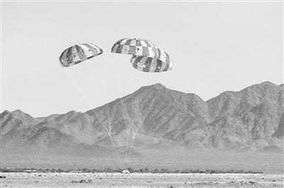 """NASA称""""猎户座""""太空船降落伞系统完成最终测试"""