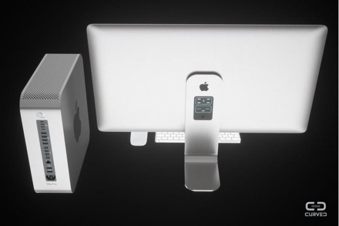 苹果模块化Mac Pro和外接显示器概念图出炉的照片 - 3
