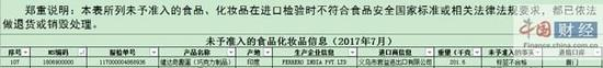 1批次进口健达奇趣蛋因标签不合格被拒进关