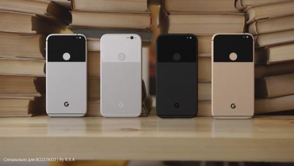 谷歌原生新机Pixel/Pixel XL新渲染图曝光:四种设计感配色的照片 - 1