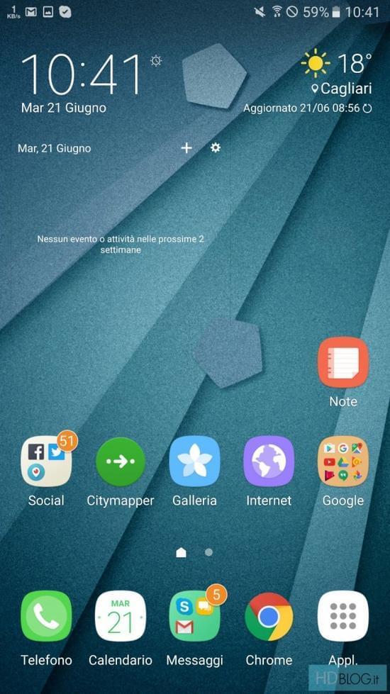 Galaxy Note7全新TouchWiz UX用户界面曝光的照片 - 1