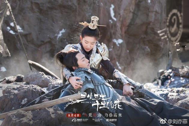刘亦菲女扮男装英气十足 刘妈:可以演龙凤双胞胎