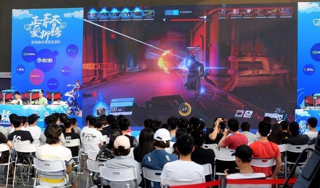 人气爆棚 2017影驰高校电竞巡游趴广州站