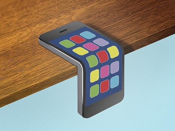 三星今年或发布可折叠手机:展开可当平板用的照片