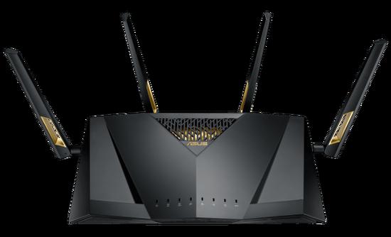 华硕推出超高速RT-AX88U 802.11ax Wi-Fi路由器