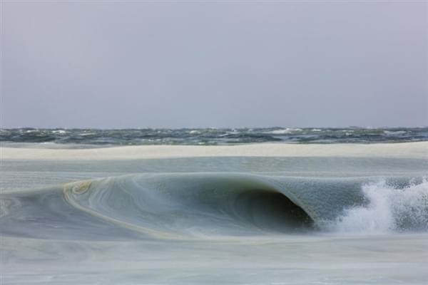 美国81年来最冷冬天:海浪都被冻上了的照片 - 7