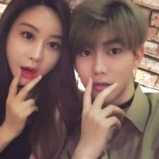 咸素媛、陈华登记结婚