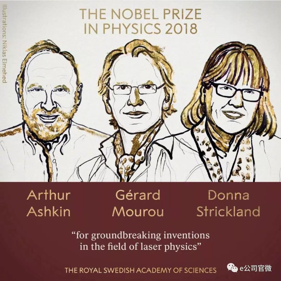 诺贝尔物理学奖颁给激光物理 4家公司最被看好