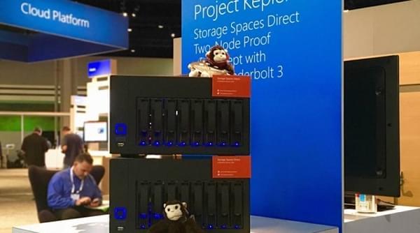 微软将20TB存储和50GB内存塞进了2台服务器的照片 - 1