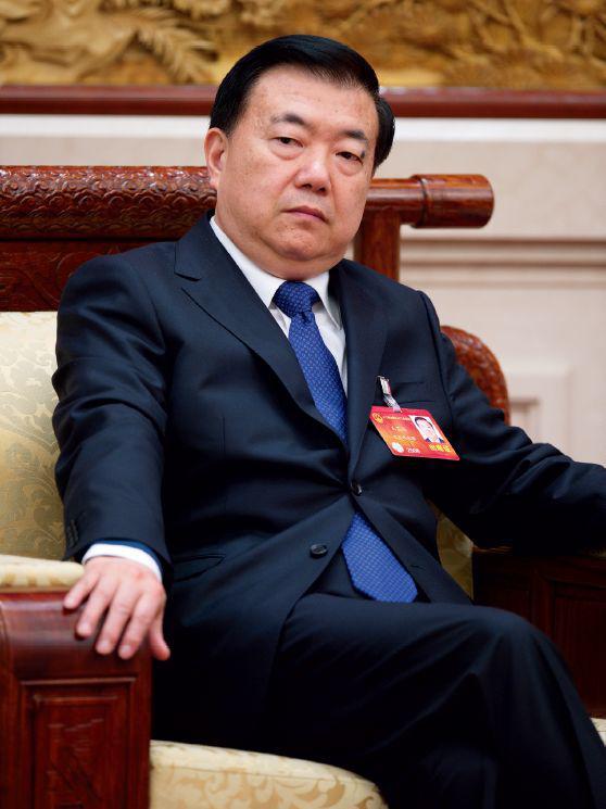 2014年3月9日,北京,中共甘肃省委书记王三运参加两会。图/CFP