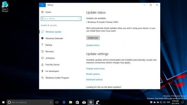 Windows 10 Build 14915推送:PC/手机双版、修复关机BUG的照片 - 2