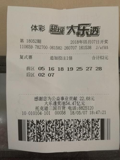 彩民冒雨购彩中奖1968万元 此前最多中千元