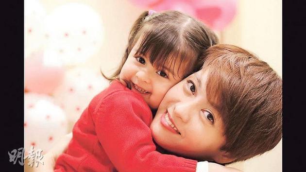 梁咏琪非常爱惜女儿Sofia。