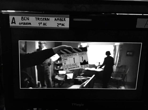 《唐顿庄园》电影正式开拍.