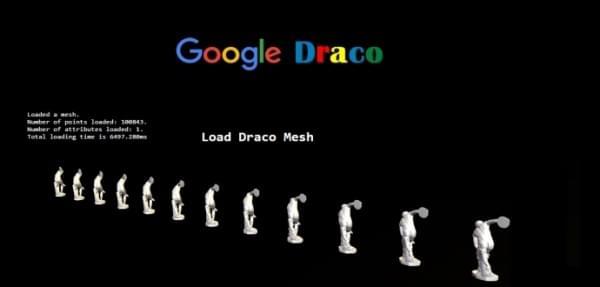 谷歌开源3D数据压缩算法 Draco 在线看片再也不用缓冲了?的照片 - 1
