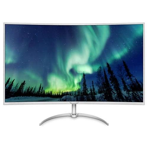 """飞利浦发布""""全球最大的4K曲面显示器"""" 大小为40英寸的照片 - 2"""