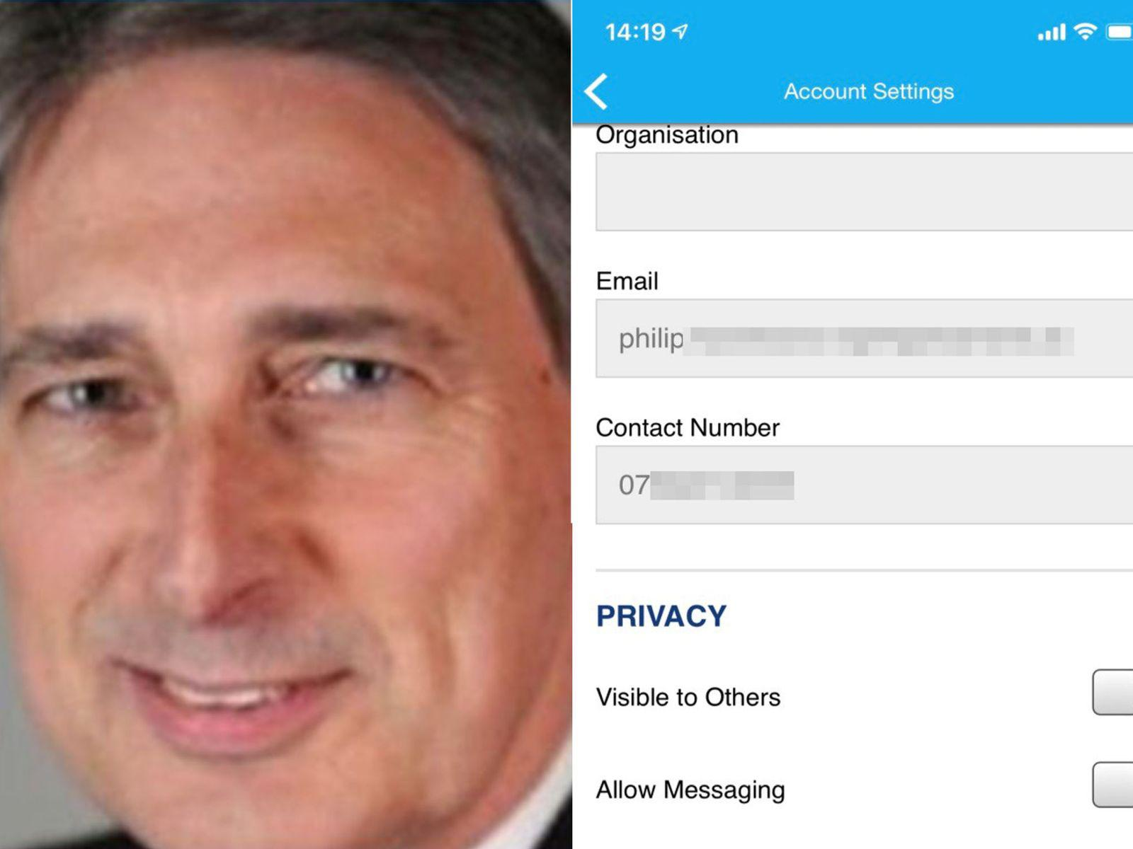 英保守党官方软件出现安全漏洞 多名高官信息被泄