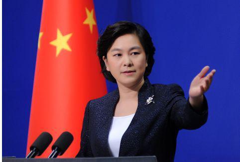 华春莹5天怒批美贸易官员言论 今天她用了串数字