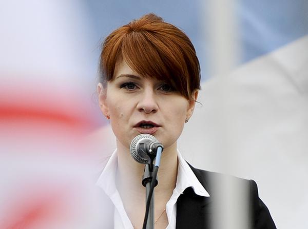 俄美女留学生被控渗透美国共和党 试图接近特朗普
