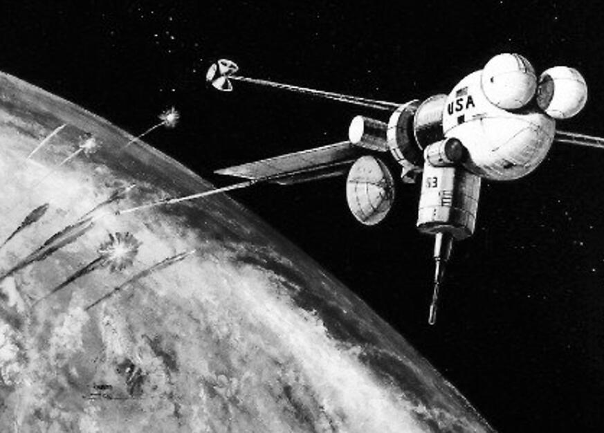 揭秘美太空军前世今生:源于冷战 构想如科幻小说