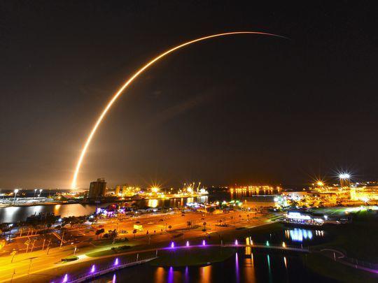 SapceX火箭再次发射升空 第26次成功回收助推器