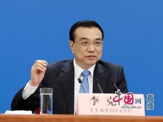 李克强:中国金融体系总体安全 不会发生系统性风险