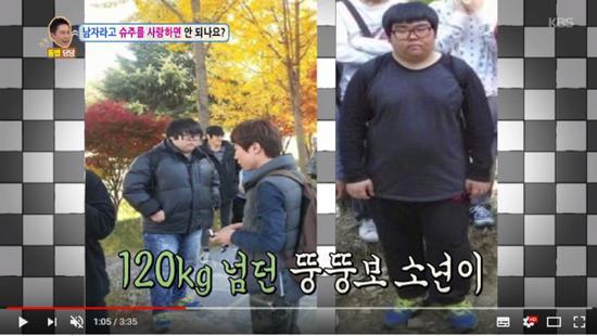 SJ粉丝减肥前