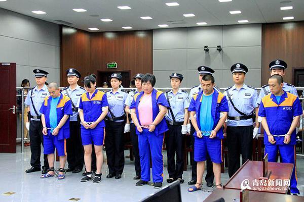 青岛中院依法对方妈鞍等四名毒贩执行死刑