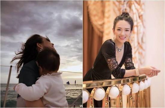 章子怡为女儿办生日派对