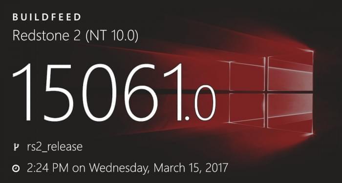 Win10 Build 15061发布:修复播放MP4文件图像扭曲问题的照片 - 1