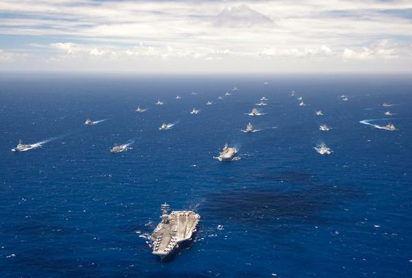 美媒:美军计划进行全球力量展示 地点包括南海