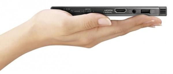 索尼发布MP-CL1A便携投影机的照片 - 2