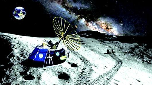 月球现美国失踪飞机