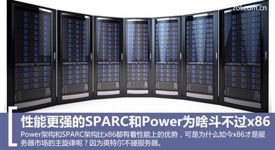 性能更强的SPARC和Power为啥斗不过x86