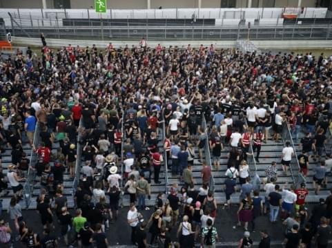 德国最大音乐节遭恐怖威胁 8万观众离场