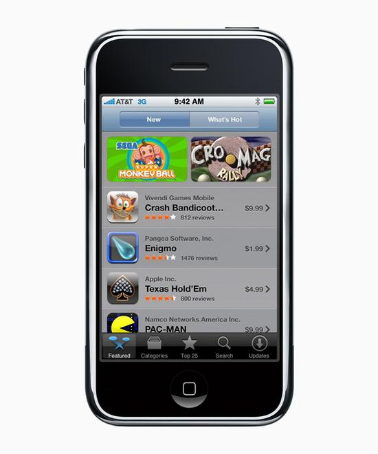 苹果发文庆祝App Store发布十周年:用户超10亿人