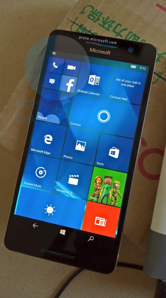 微软Lumia 960原型机在中国再曝光:骁龙820你敢信?