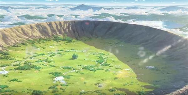 日本动画电影《你的名字。》对比现实场景的照片 - 5