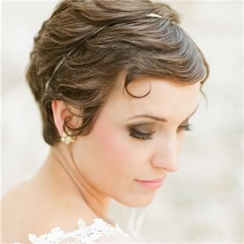 2016短发新娘造型图片 最新的短发造型图片