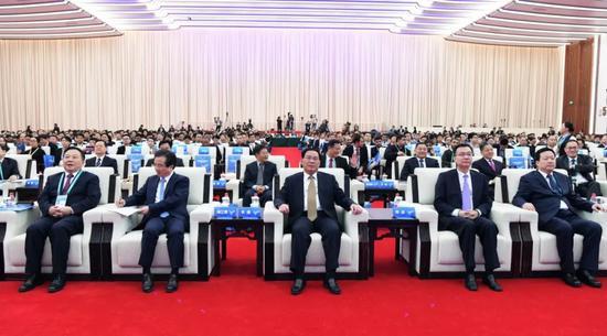 进博会G60科创走廊九城市扩大开放政策发布会于11月8日下午举行(来源:上海发布)